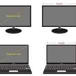 Как измерить размер матрицы ноутбука?